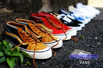 VANS -CLOSE UP BRAND-