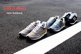new balance -CLOSE UP BRAND-