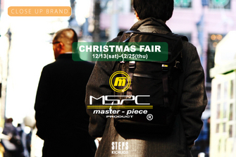 CHRISTMAS FAIR [master-piece prducts 12/13(sat)-12/25(thu)]