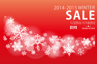 2014-2015 WINTER SALE START!!