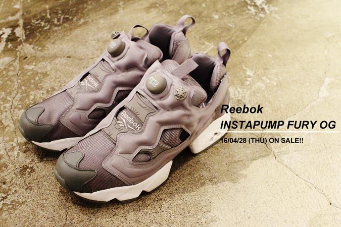 Reebok - INSTAPUMP FURY OG - 4/28(木)発売!!