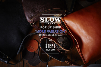 SLOW POP UP SHOP
