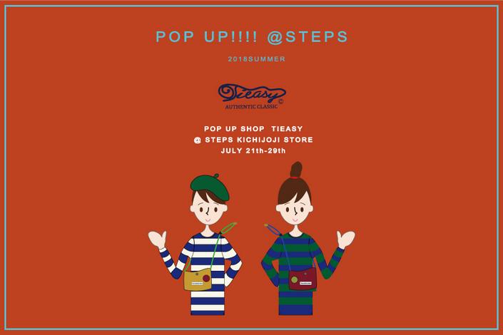 TIEASY POP UP SHOP@KICHIJOJI