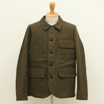 FRANK LEDER / WAX COTTON WORK JACKET