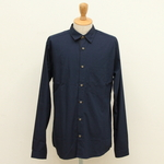 FRANK LEDER / BLUE COTTON SHIRTS