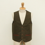 FRANK LEDER / WAX COTTON VEST