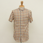 steven alan / SINGLE NEEDLE CHECK S/S
