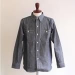 BONCOURA / シャンブレーワークシャツ