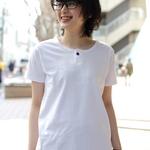 EEL / イール 別注 陶器ボタンのヘンリーTシャツ