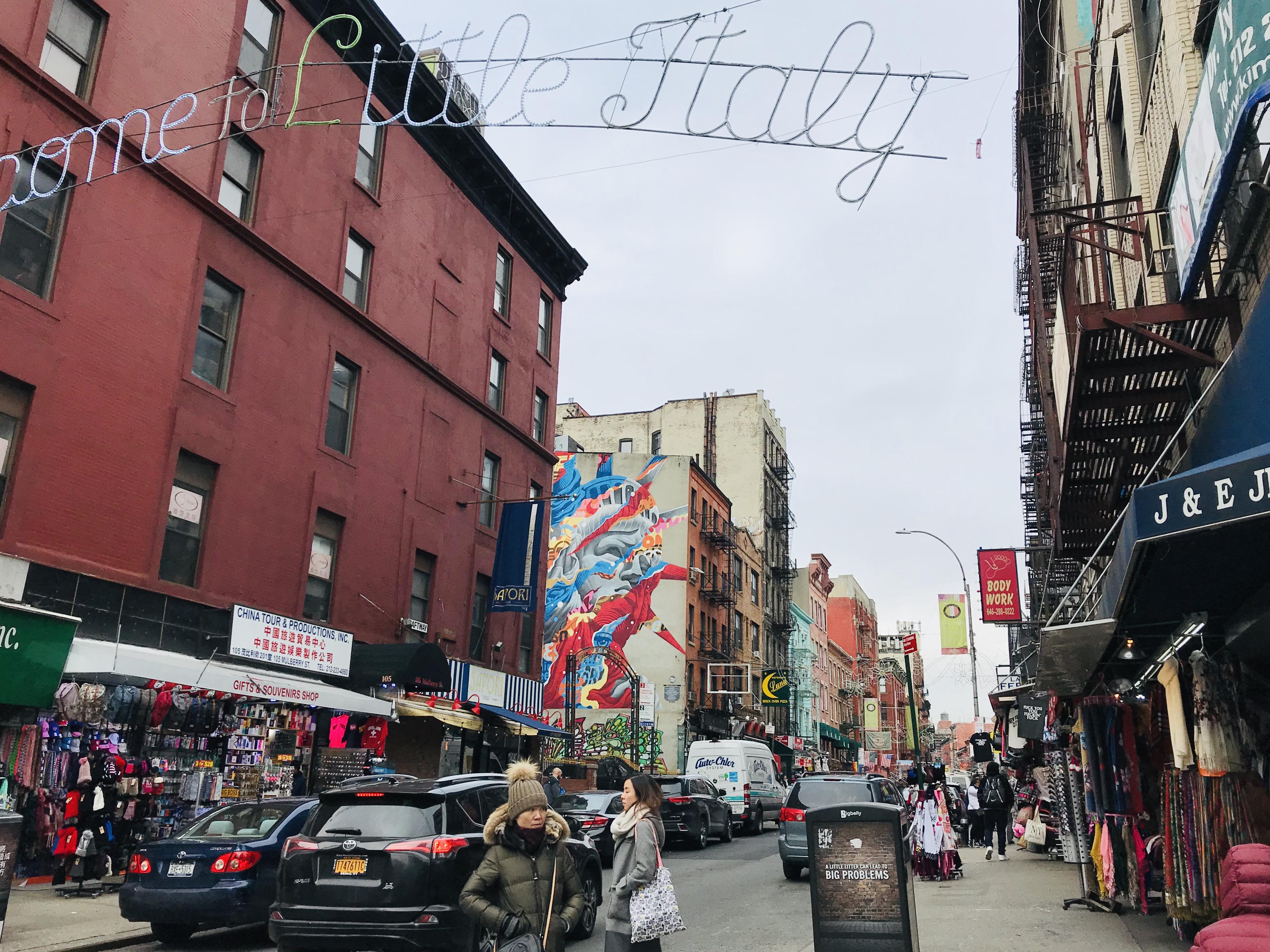 もち散歩ーNEW YORK-