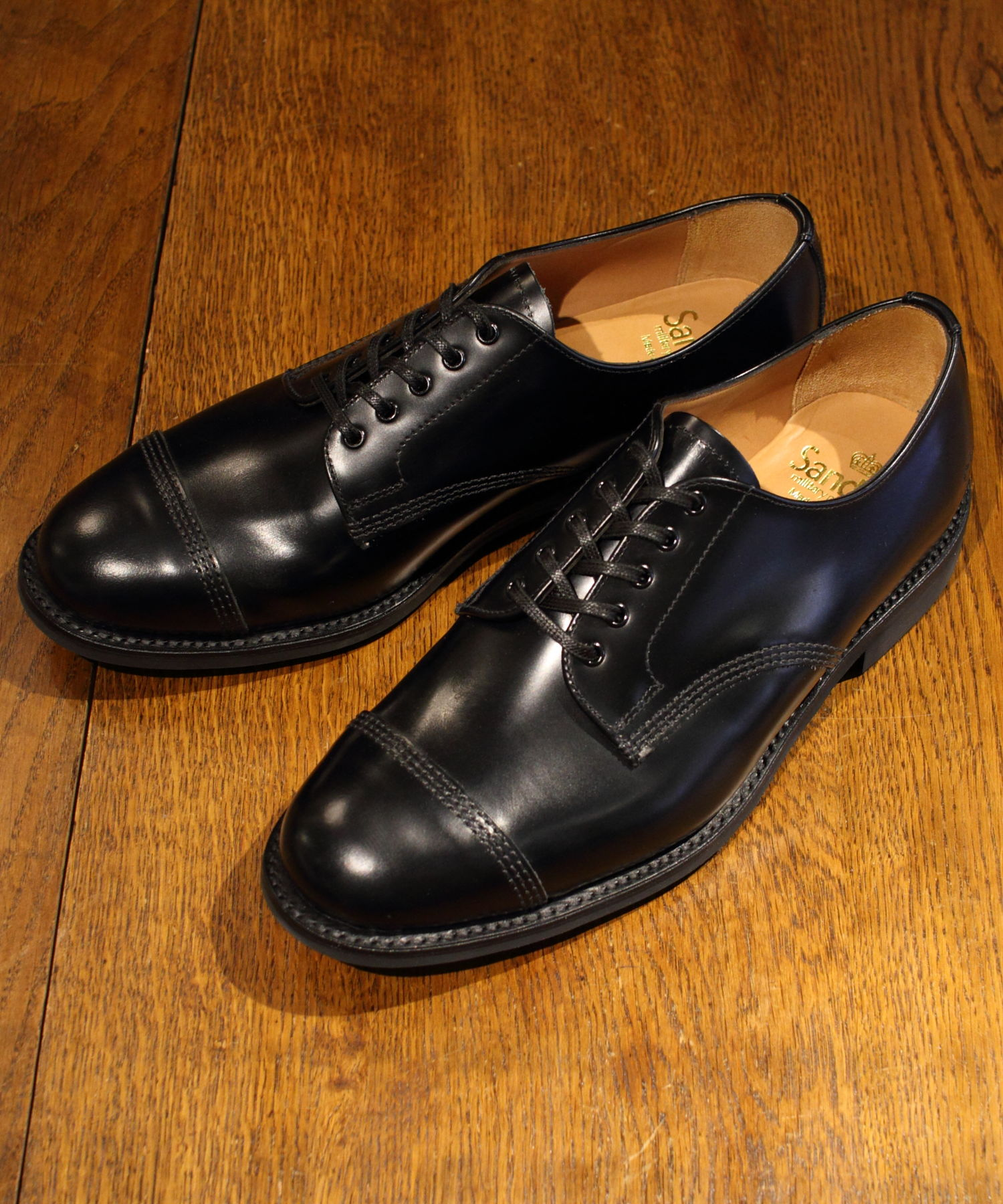 SANDERS / サンダース ミリタリーダービーシューズ MILITARY DERBY SHOES
